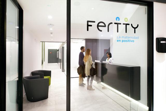 Recepción - Instalaciones Clínica Fertty