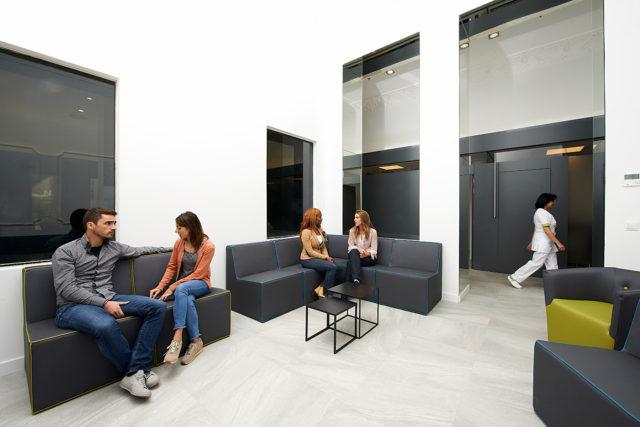 Sala de espera - Instalaciones Clínica Fertty