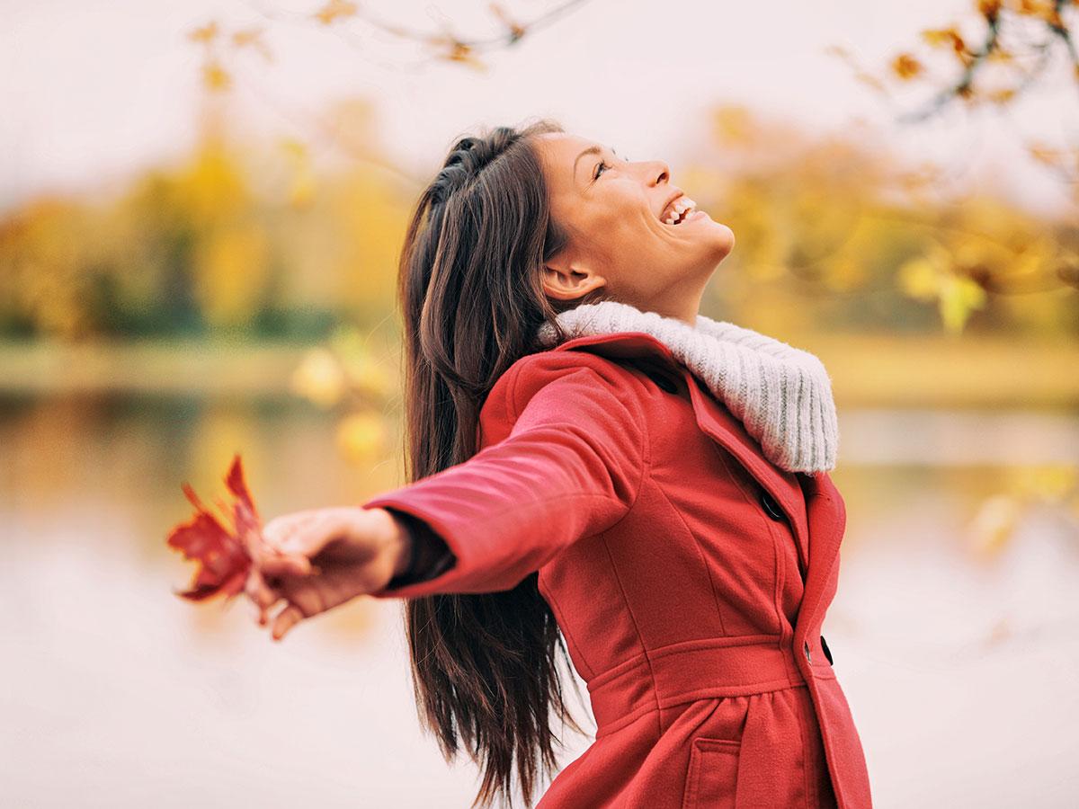Ventajas del embarazo en otoño