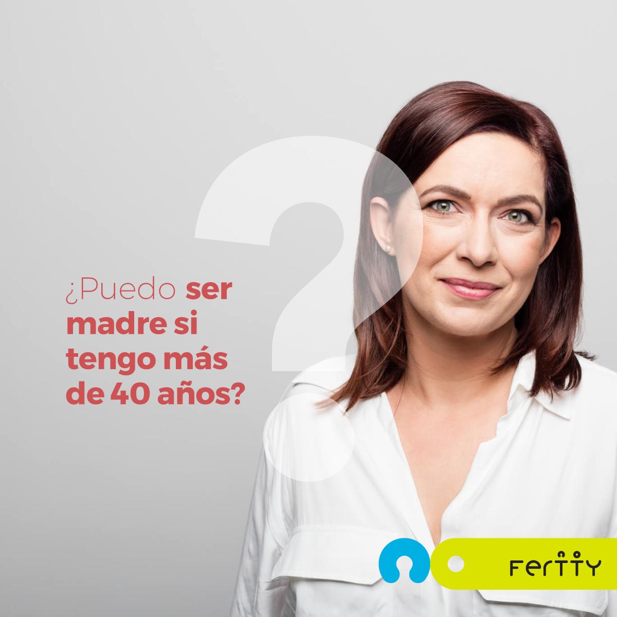 Madre a los cuarenta