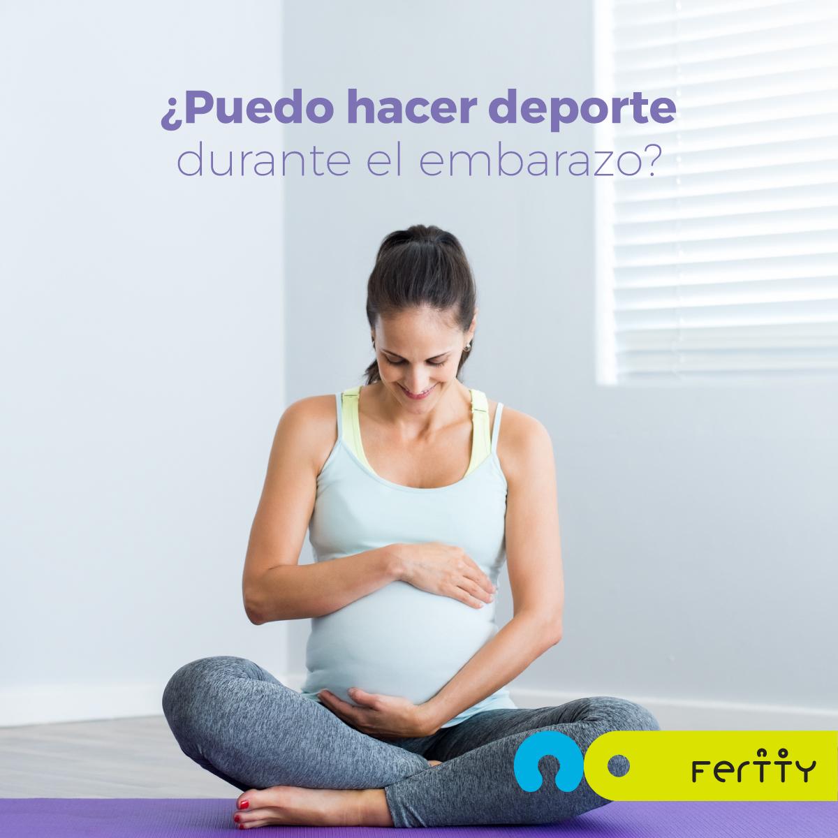 deporte durante el embarazo